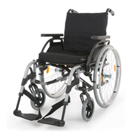 Breezy Elegance Silver manual wheelchair