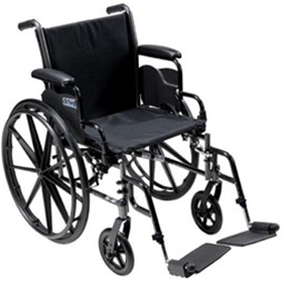 Cruiser lll - Lightweight, Dual Axle manual wheelchair
