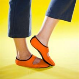 Mary Janes Orange