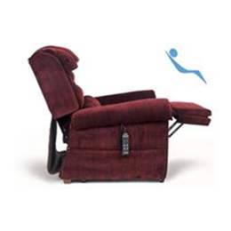 MaxiComfort Relaxer side view semi reclined