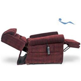 MaxiComfort Relaxer side view fully reclined