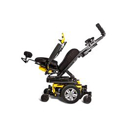 Quantum iLevel® power chair yellow