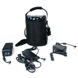 XPO2 Portable Concentrator with accessories