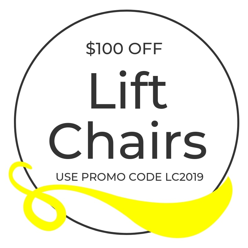 $100 off lift chairs